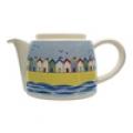 poole beach huts teapot