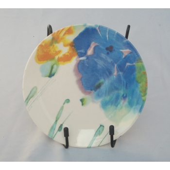 Poole Pottery Iris Side plate