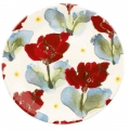 Poppy  breakfast plate