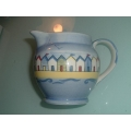 POOLE POTTERY BEACH HUTS 1 ORIGINAL SOPER LANE  MILK CREAM JUG
