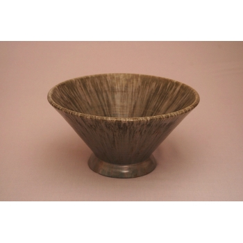 Conical bowl trial glaze