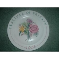 Poole festival of britain Plate
