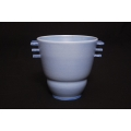 Planeware vase blue conical