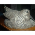 Poole stoneware rare bird with not touching beak Barbera LInley Adams