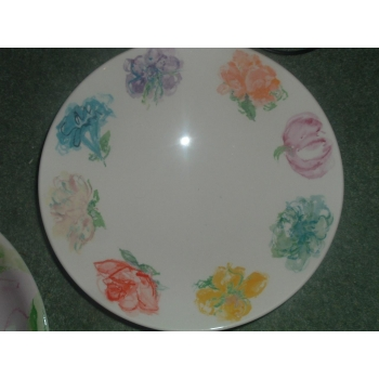 Poole Pottery Blossom for Tiffany New York Medium bowl