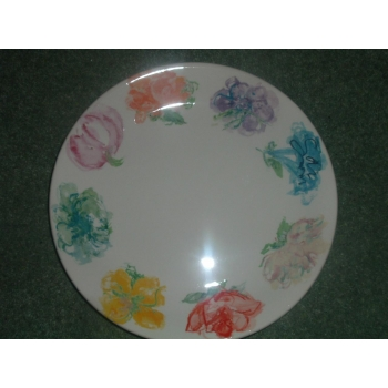 sc 1 st  Studio Poole & Poole Pottery Blossom for Tiffany New York Dinner Plate