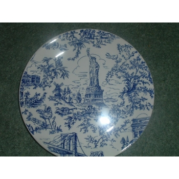 Poole Pottery New York Toile Liberty