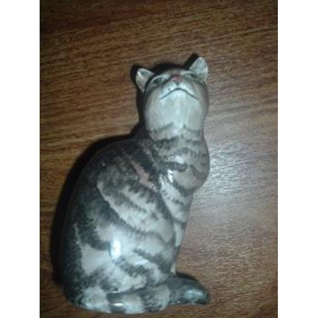Tony Morris Poole pottery cat