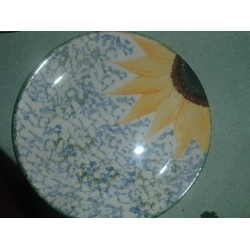 Poole pottery Vincent breakfast Plate