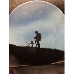 WW1 Plate Blue Limited Edition